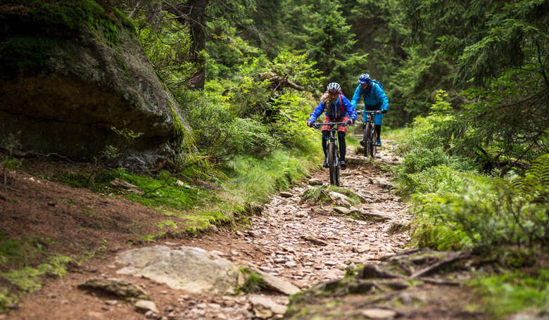 Single Trails: ein Biker-Tourenschmankerl